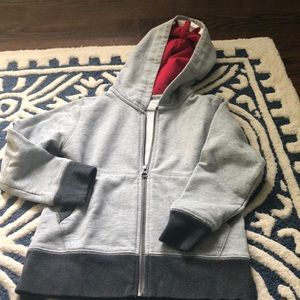 Crewcuts zipped hoodie exc cond